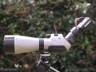 Cameras & Scopes for Digiscoping