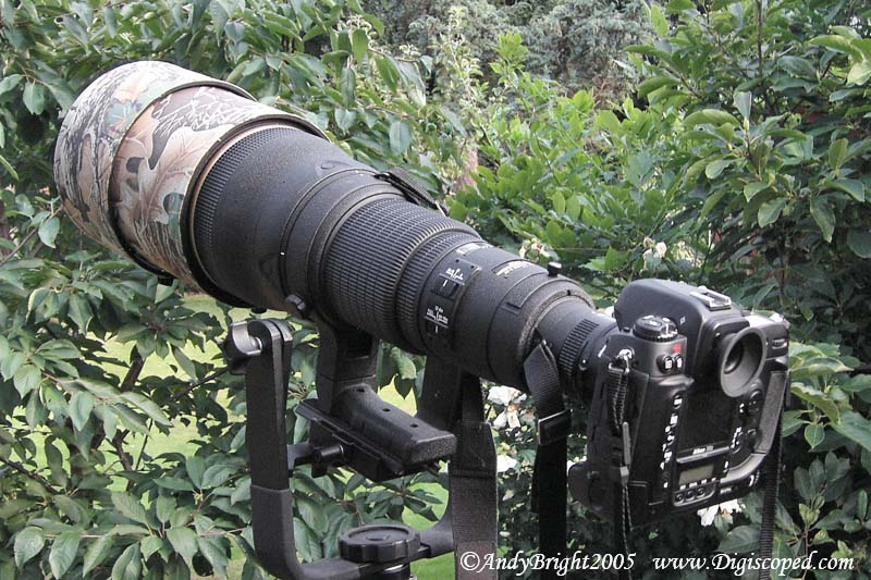 I have recently started using the Nikon 600mm f4 telephoto lens,